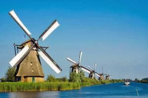 Kinderdijk windmills, near Rotterdam 1583279