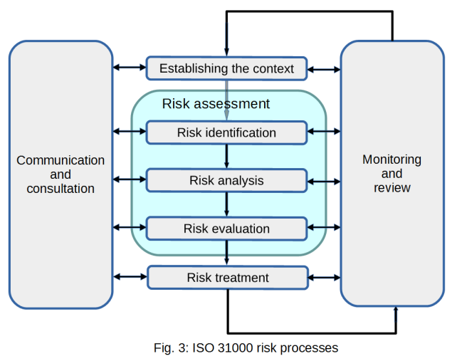 ISO 31000 processes